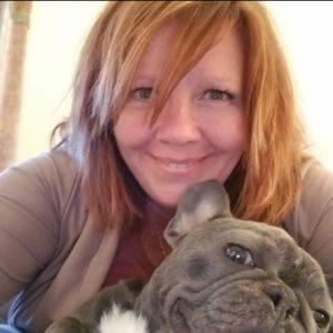 Steph Nesselhuf and her dog Samson